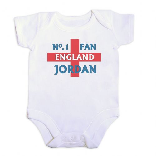 Personalised No 1 England Fan Vest